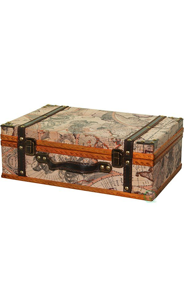 Vintiquewisetm old world map suitcasedecorative box best price vintiquewisetm old world map suitcasedecorative box best price gumiabroncs Image collections