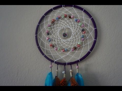 How to make a beautiful dreamcatcher - love this youtube ...