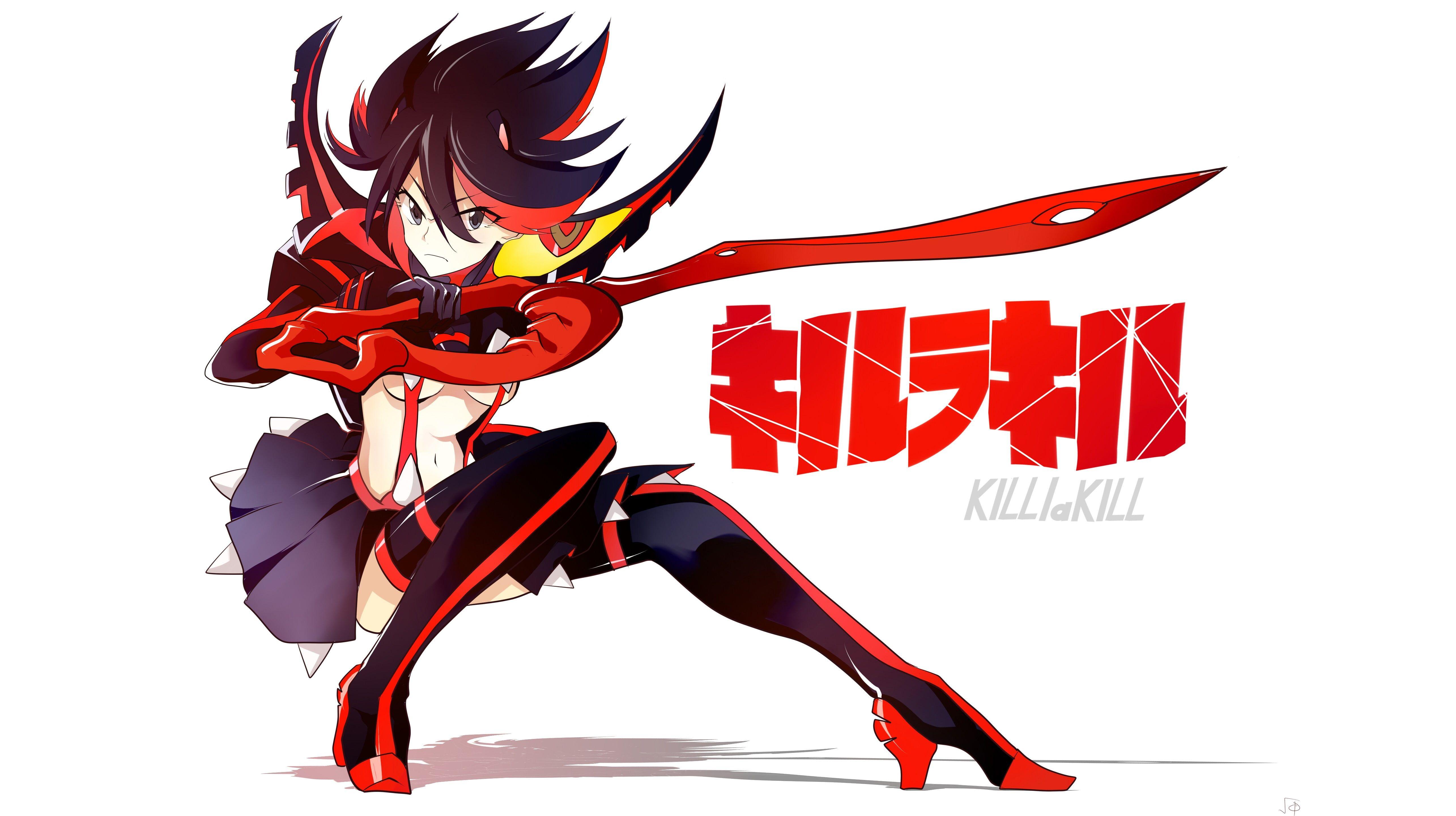 Kill la Kill Senketsu Matoi Ryuuko 5K wallpaper