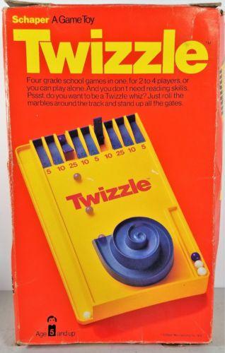 Details about Twizzle Game Vintage 1976 Schaper Game Four
