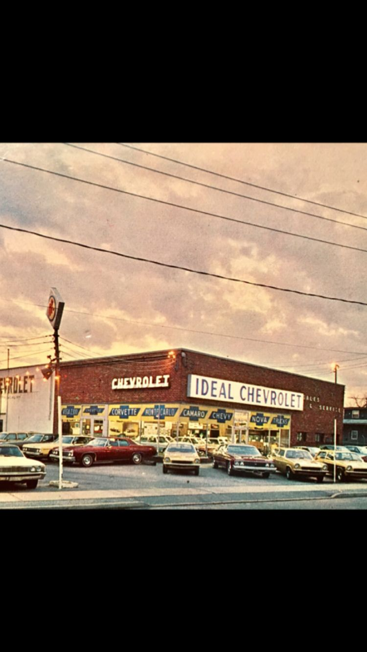 ideal chevrolet farmingdale ny late 1972 my dad bought a 71 chevelle new at this dealership i believe i car dealership cool car pictures chevy dealerships ideal chevrolet farmingdale ny late