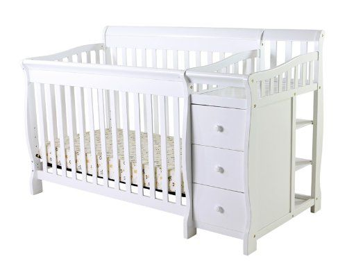 Dream On Me 5 In 1 Brody Convertible Crib With Changer White Dream On Me Http Www Amazon Com Dp B0051c Convertible Toddler Bed Cribs