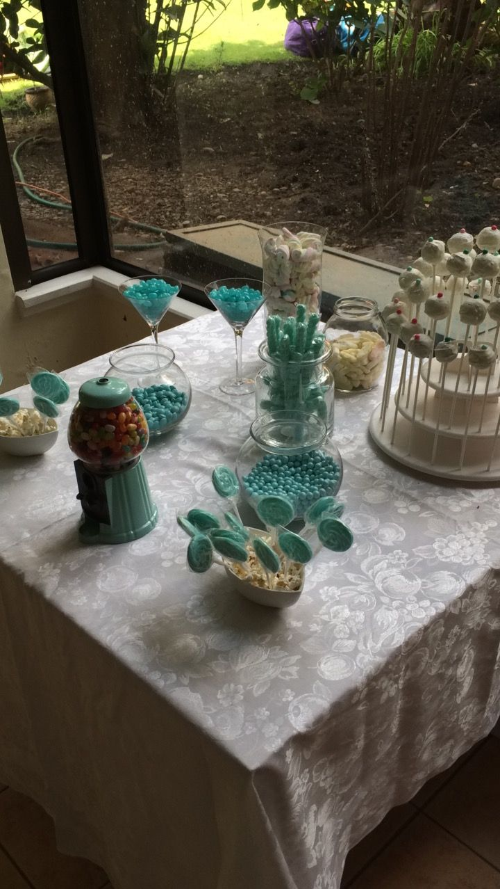 Candy bar🍭🍦🍬 #candybar #sweets #dulces #blue #cumpleaños