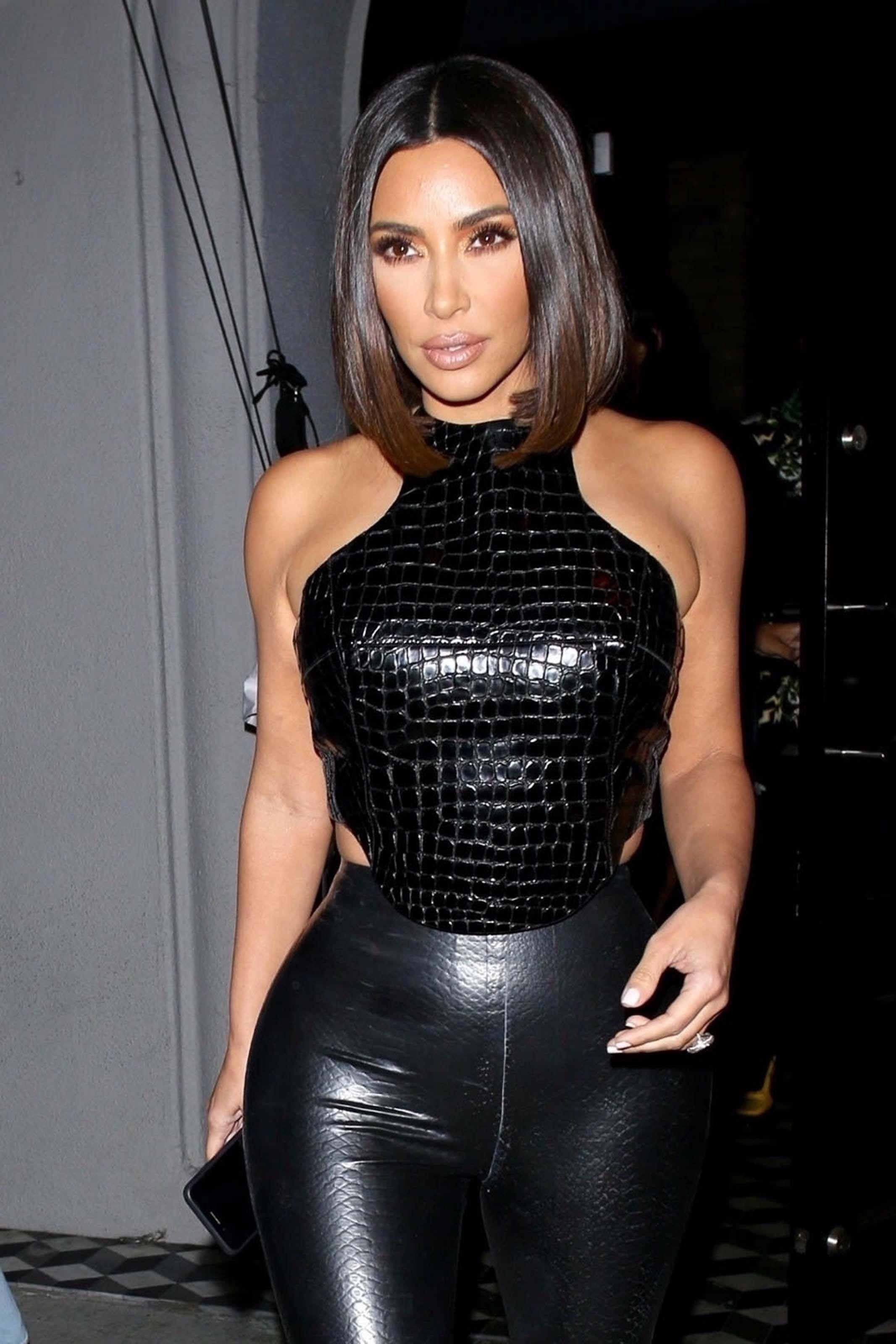 Gallery Leather Celebrities Kim Kardashian Hair Kim Kardashian Short Hair Kardashian Hair