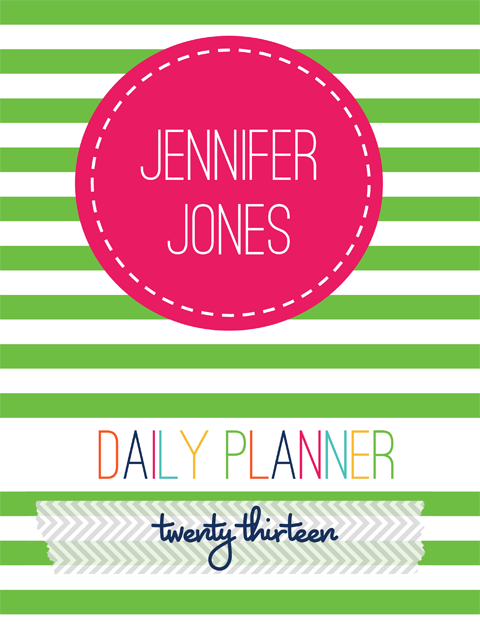 Don T Miss Your Chance To Win An Awesome Personalized Planner From I Heart Organizing