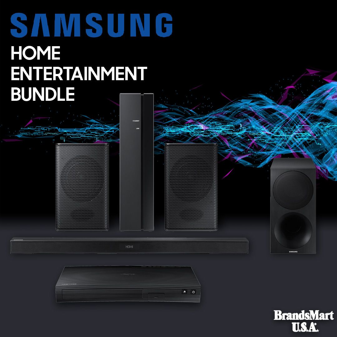 Home Theater Audio Deal Save 193 Wireless Rear Speaker Kit Swa8500s 320 W Best Home Theater System Wireless Home Theater System Blu Ray Home Theater