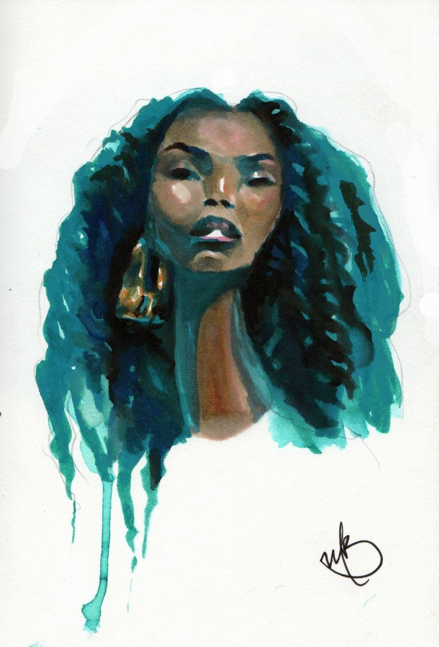 Nii Adom | Female art, Art, African art