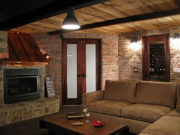 Man Cave Ideas Ireland : Irish pub man cave traditional basement chicago by modern