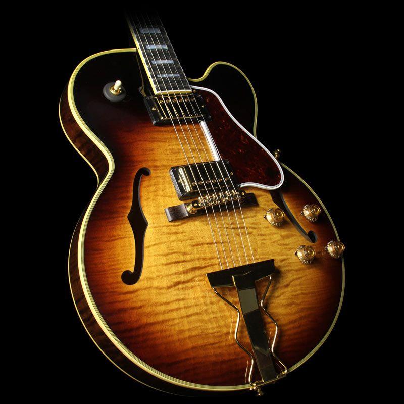 gibson memphis es 275 figured electric guitar montreux burst gorgeous guitars drool. Black Bedroom Furniture Sets. Home Design Ideas