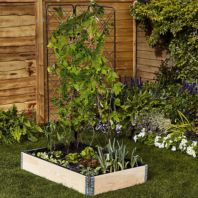 Verve Plastic Raised bed liner Large DIY at B&Q