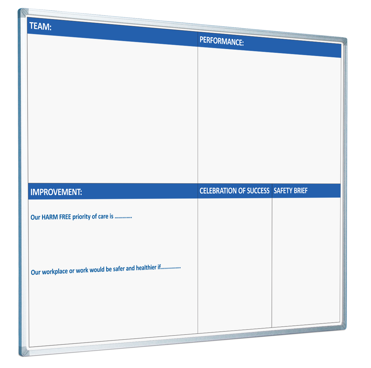This ward performance board has been designed to provide