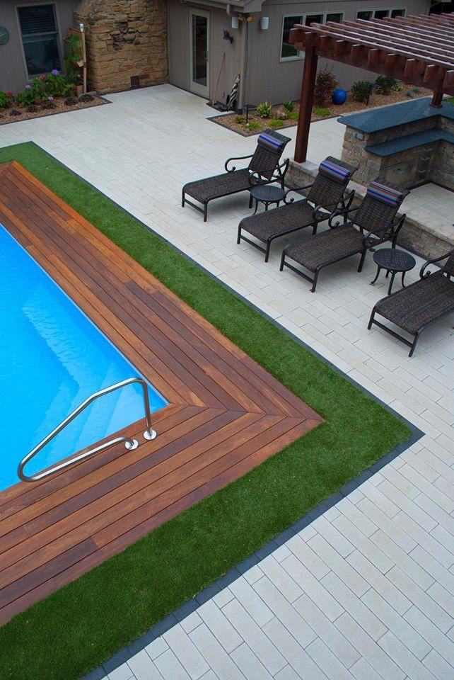 Low Maintenance Pool Landscaping
