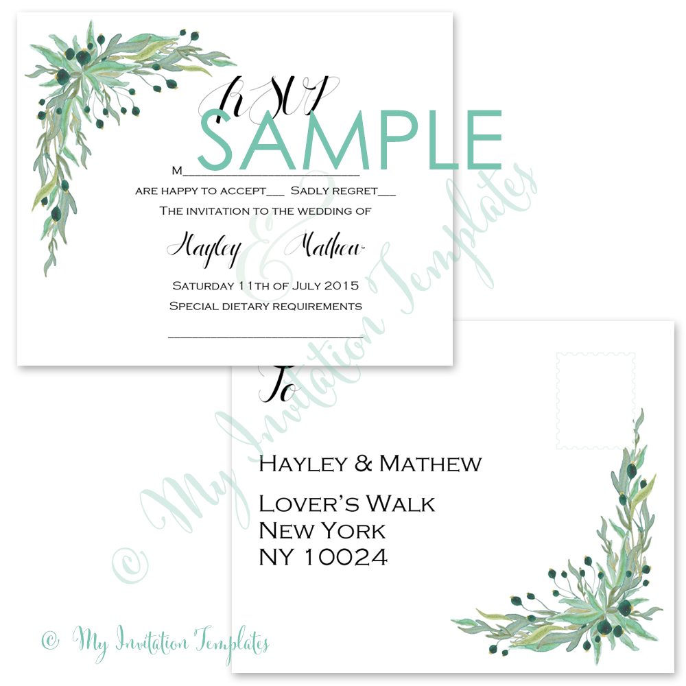 You Are Here Home Products Rsvp Postcard Template Free Sample The