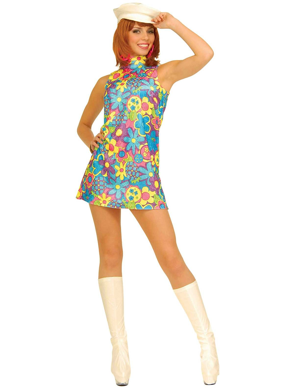 Go Go Dancer Costume | Sexy 60s Halloween Costumes  sc 1 st  Pinterest : 60s halloween costume ideas  - Germanpascual.Com
