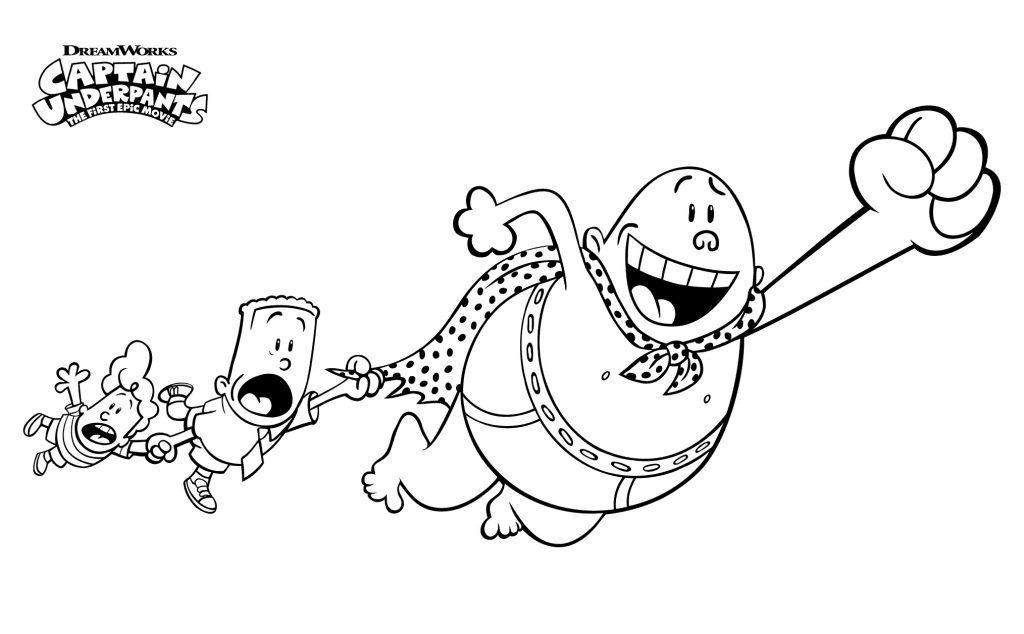 Captain Underpants Coloring Pages Best Coloring Pages For Kids Coloring Pages Cartoon Coloring Pages Monster Coloring Pages