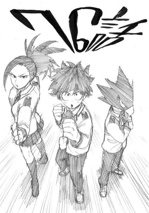 dessin manga action
