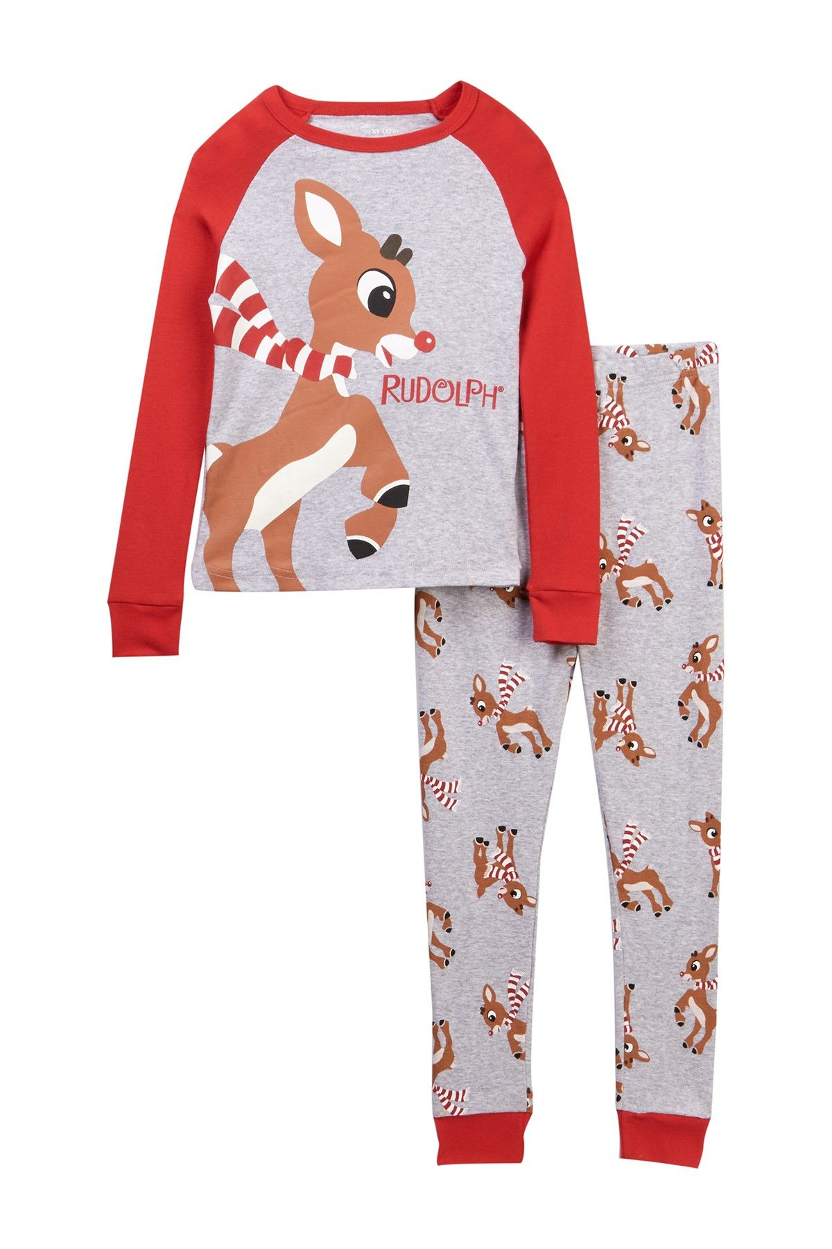db075b365 Rudolph Cotton Pajamas (Little Boys)
