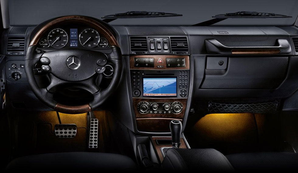 Mercedes G Class Black Interior 2011 Mercedes Benz G