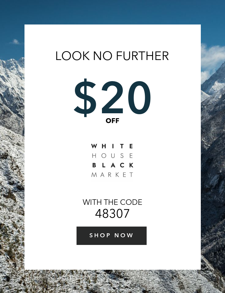 photo regarding White House Black Market Printable Coupon titled Pin upon White Place Black Current market Discount coupons