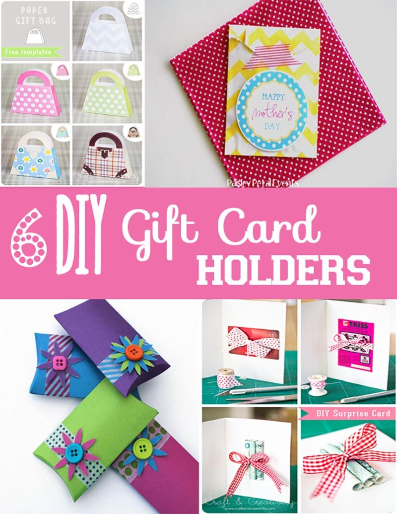 Gift Cards Are Wonderful But Put It Inside One Of These Cute Diy