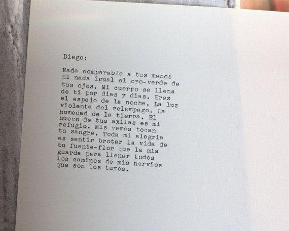 Esta Bella Carta De Amor Que Frida Le Escribió A Diego Rivera Words Quotes Diego Rivera