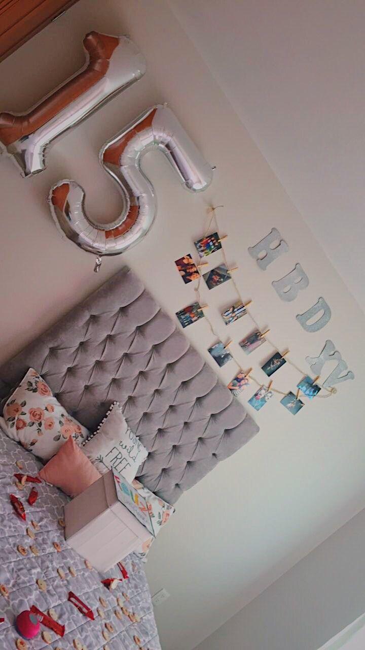 Decoración de cuarto para cumpleaños | Majo | Regalo de cumpleaños ...