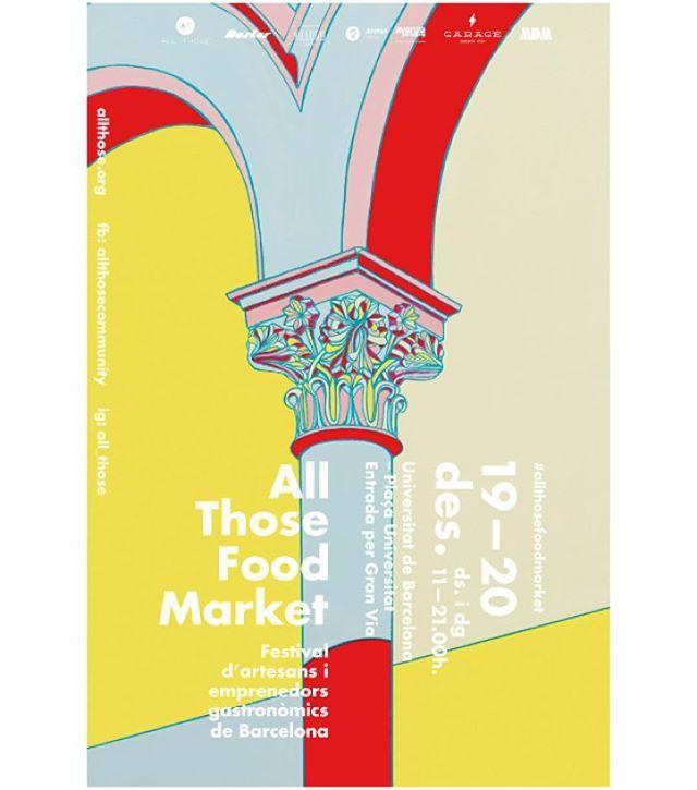 All Those food market @ Universitat de Barcelona