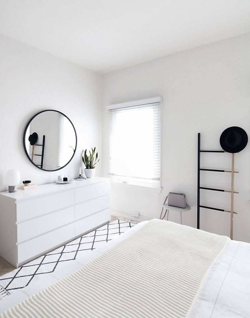 Modern Bedroom White como ter uma casa minimalista em 2017 | bedrooms, room and interiors