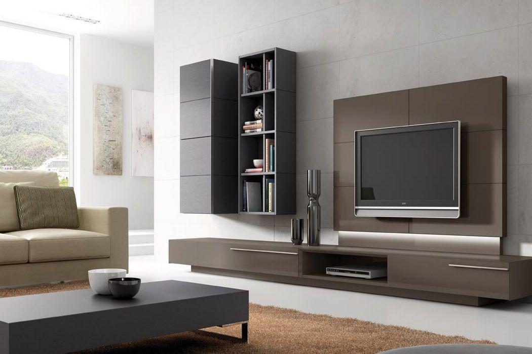 muebles de tv modernos  Buscar con Google  Decoracion
