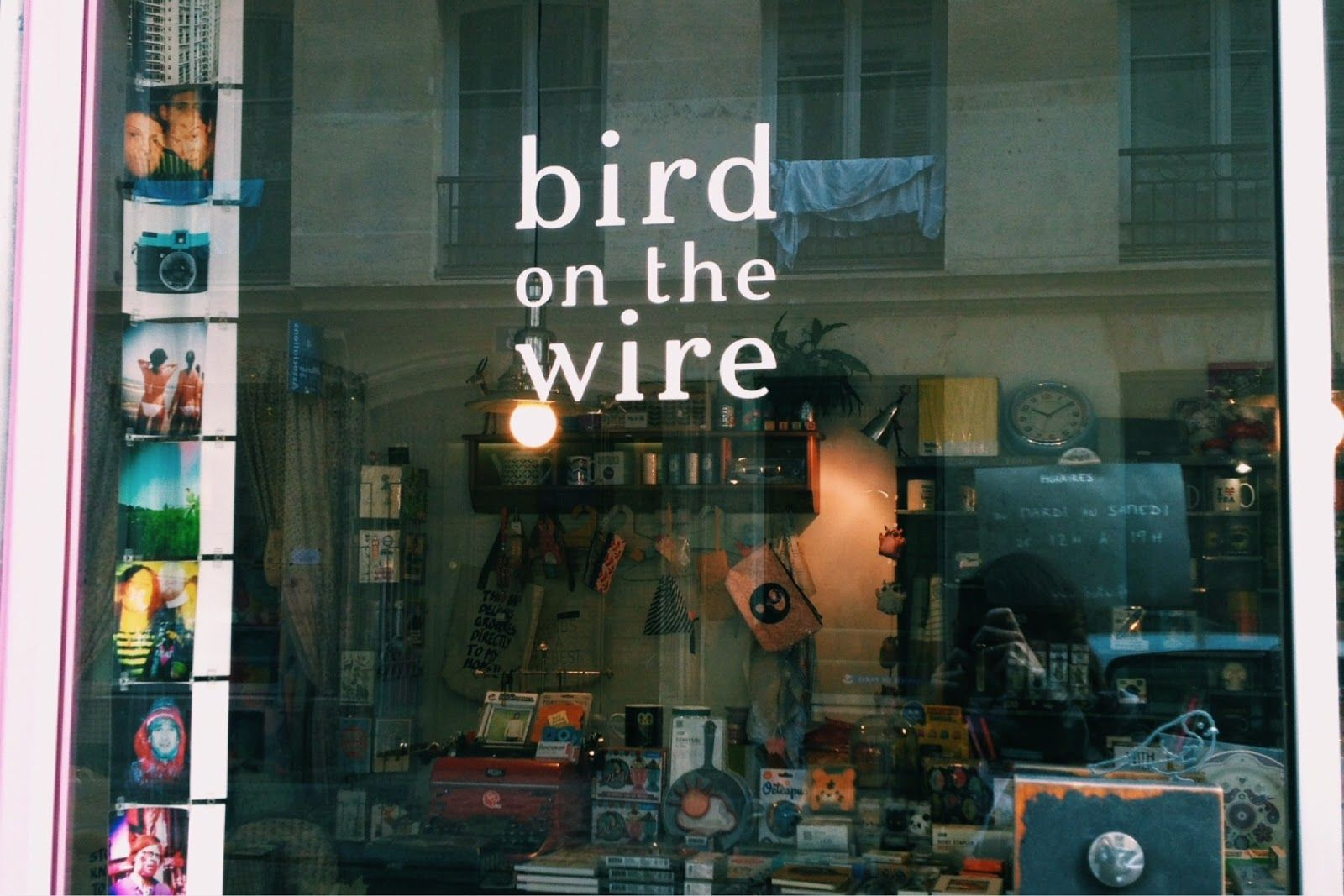 Boutique Bird On The Wire 2 Rue De Lesdiguieres 75004 Paris Du Mardi Au Samedi De 12h A 19h Paris Rue Boutique