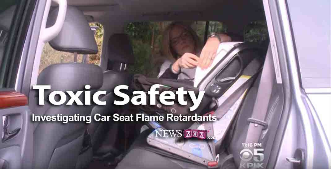 Toxic Safety: Investigating Car Seat Chemicals , To understand the issue of flame retardants in car seats, it helps to have a basic understanding of the history of the chemicals in products, the industry influence and the potential harm. This NewsMom resource includes a brief summary of the proliferation flame retardants and background information on our investigation.  It also provides...