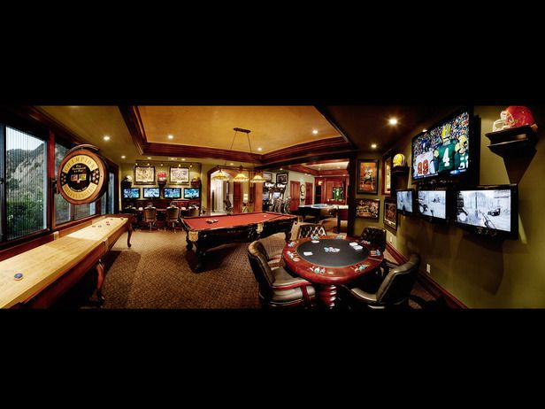 State Of The Art Game Room Million Dollar Rooms Game Room Room