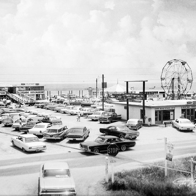 Surfside Pier Surfside Beach Sc 1960s Courtesy Of Jack Thompson