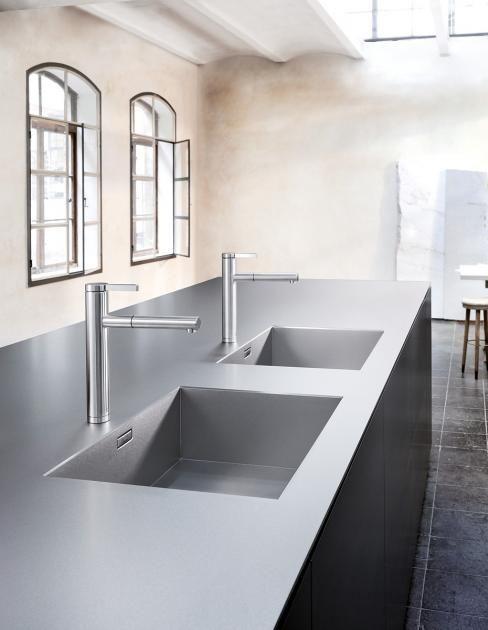 Einrichtungsideen für die Wohnküche Kratzfest mit weicher Haptik - Moderne Wasserhahn Design Ideen