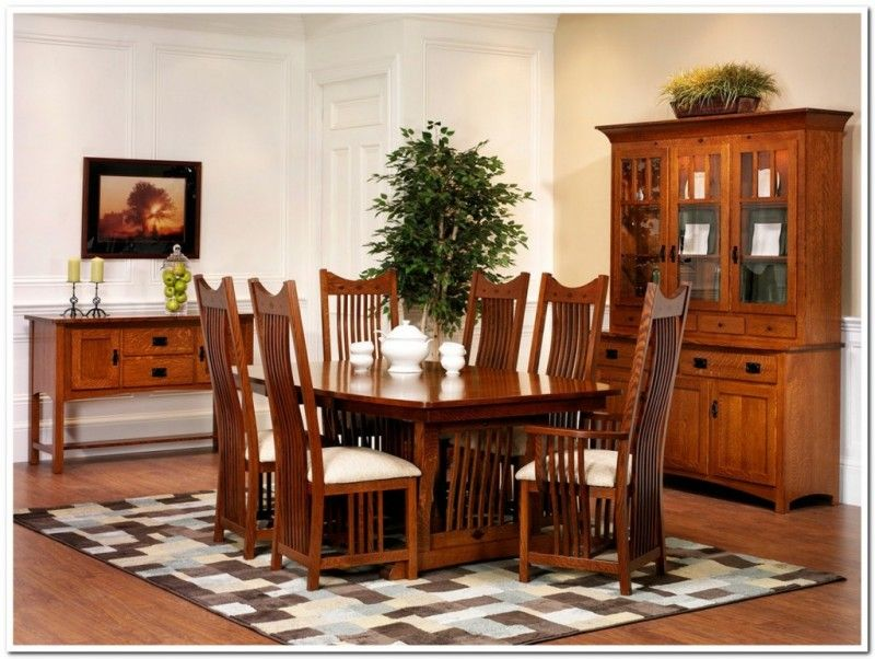 Exciting Mission Style Dining Tables Diningroom Furniture Mission Style Dining Table Ho Bassett Furniture Dining Dining Room Furniture Sets Dining Room Remodel