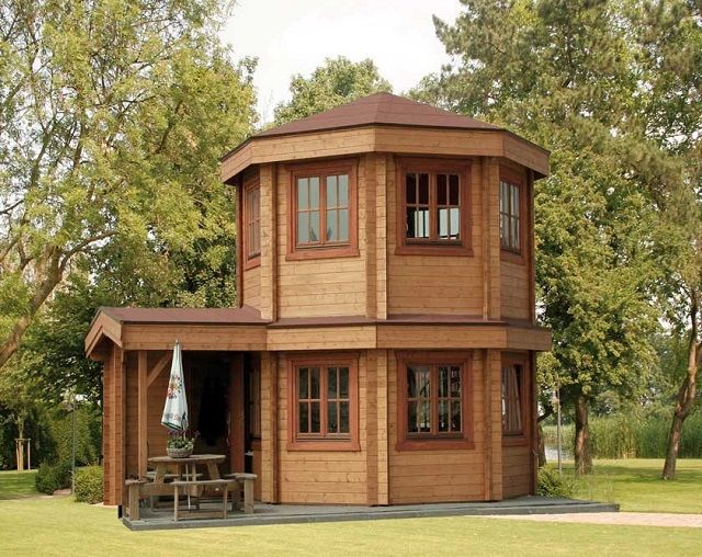 der toulouse pavillon ein erstaunliches geb ude f r den garten die architektur haus. Black Bedroom Furniture Sets. Home Design Ideas