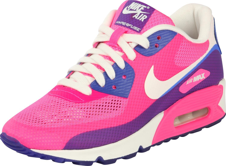Prisionero Despido Extranjero  Nike Air Max 90 Hyperfuse Premium W shoes pink blue white | Nike air max  for women, Nike air max, Nike running shoes women