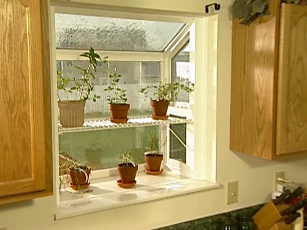 How To Trim And Finish A New Garden Window For The Home Kitchen