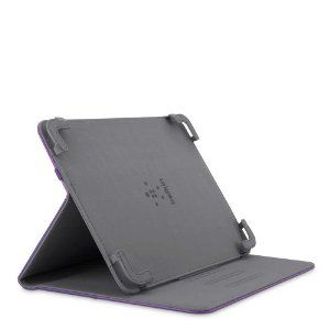 Purple Belkin Classic Strap Cover with Stand for Kindle Fire HD 8.9