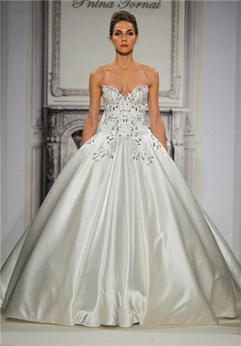 Pnina Tornai For Kleinfeld Wedding Dresses The Knot