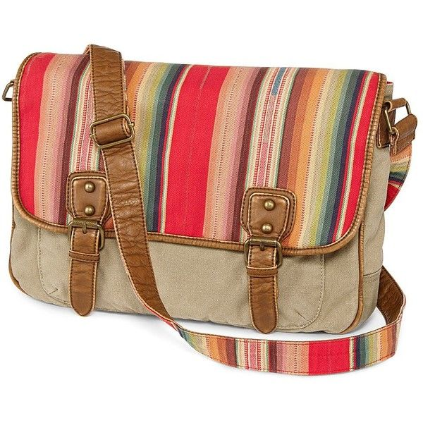 2a88f963b65f Arizona Small Washed Messenger Bag - jcpenney ($30) found on Polyvore
