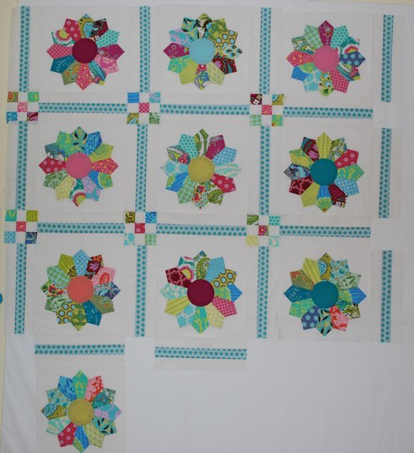 Quilt Sashing Ideas Doing 12 Dresden Blocks And Ive Only Got 1 1