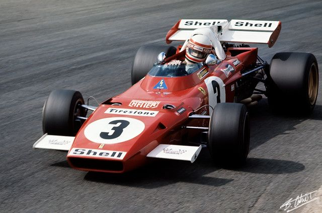 Clay Regazzoni, 1971 Ferrari 312B2