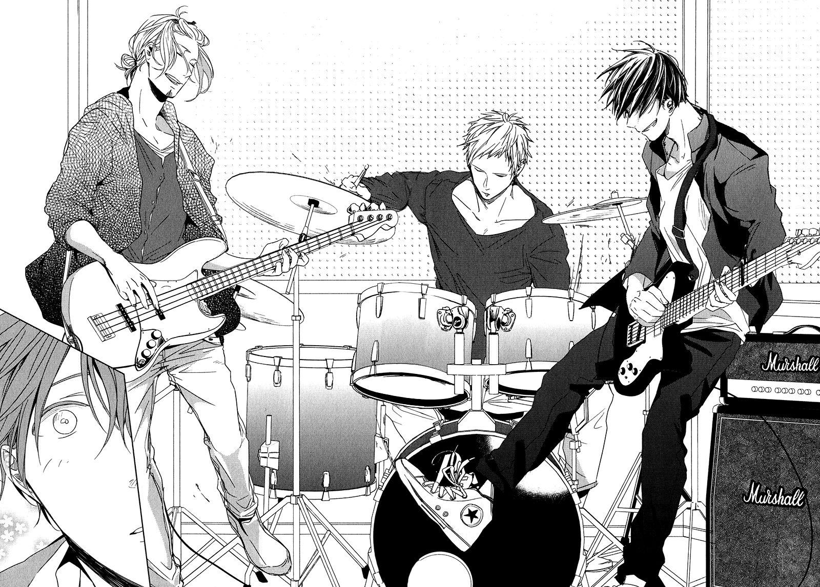 Given by Kizu Natsuki Dibujos, Arte de anime, Personajes