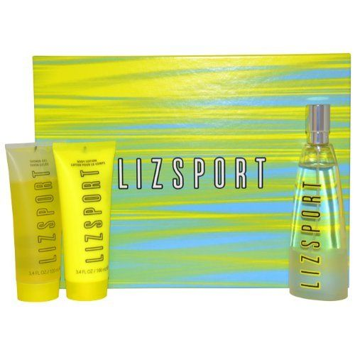 Liz Sport By Liz Claiborne, 3-Count by Liz Claiborne. $22.37. It is recommended for casual wear. Liz Sport by Liz Claiborne for Women - 3 Pc Gift Set 3.4oz EDT Spray, 3.4oz Body Lotion, 3.4oz Shower Gel. 3 Pc Gift Set 3.4oz EDT Spray, 3.4oz Body Lotion, 3.4oz Shower Gel. Liz Sport was launched by the design house of Liz Claiborne. This product is a fragrance item that comes in a giftset. It is recommended for casual wear.. Save 25%!