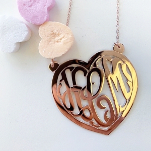 Pin on valentine day necklace