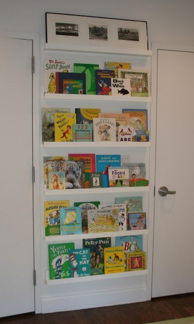 Love This Idea For Space Saving Book Display!