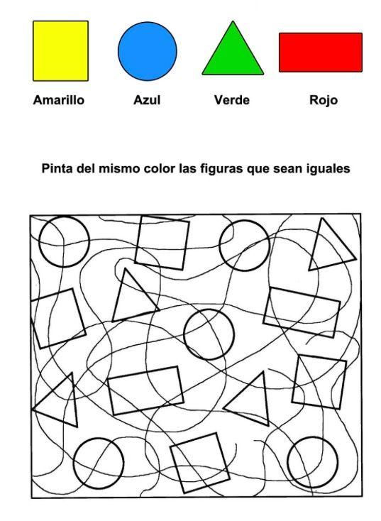 Fichas para niños de Infantil 4 años | Petit | Pinterest