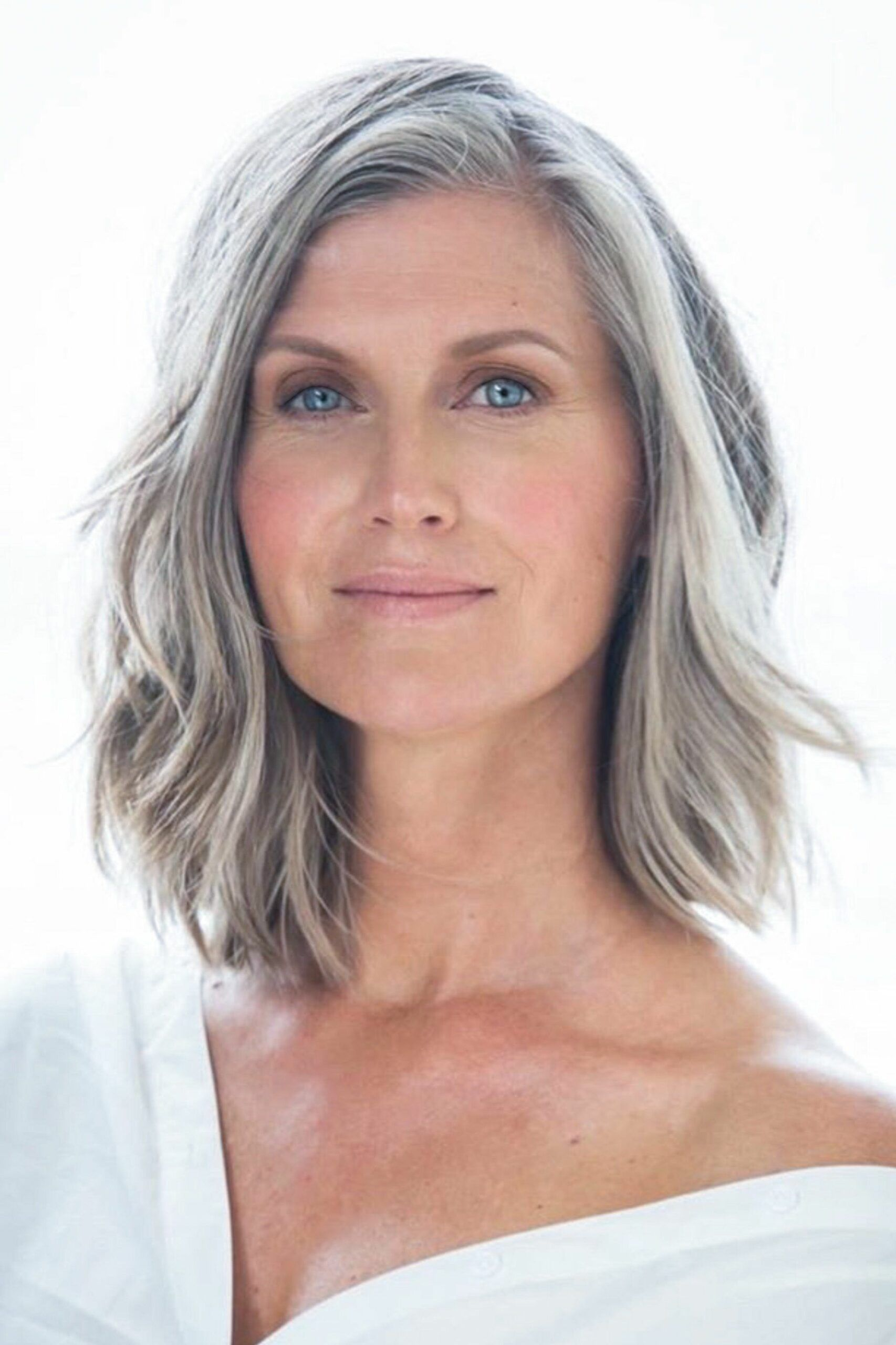 Glamorous Grey Hairstyles For Older Women The Undercut In 2020 Long Gray Hair Hair Styles Long Layered Bob Hairstyles