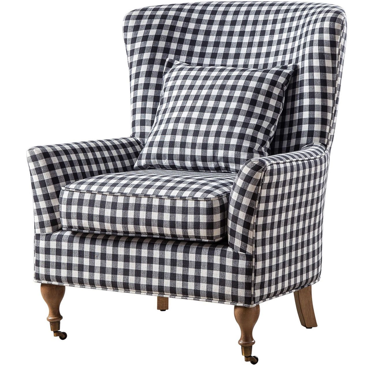 Lancaster Plaid Chair Plaid Chair Furniture Chair #plaid #chairs #living #room